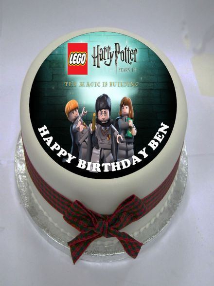 LEGO Harry Potter Edible Cake Topper